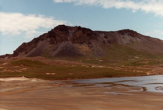 French Southern and Antarctic Lands - Kerguelen Islands – The Volcan du Diable.