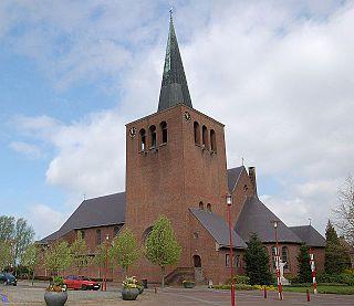 Baexem Place in Limburg, Netherlands