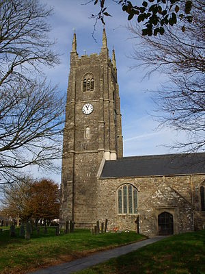 Kilkhampton - Kilkhampton church