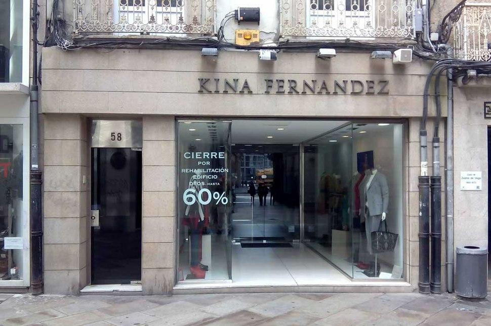Kina Fernández A Coruña Rúa Real