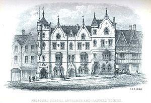 King Edward VI College, Stourbridge - c.1858