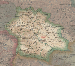 Kingdom of Kartli-Kakheti in the Map of Caucasus with the borders 1801-1813.png