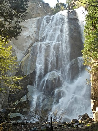 Kings Canyon National Park - Grizzly Falls, near Cedar Grove