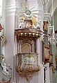 Kirche 19055 Kanzel in A-2115 Ernstbrunn.jpg