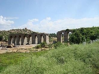 Anegundi - Kishkindha Old Bridge at Anegundi