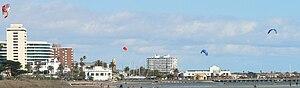 St Kilda Beach, Victoria - Kitesurfing on St Kilda Beach