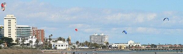 St Kilda Beach Victoria