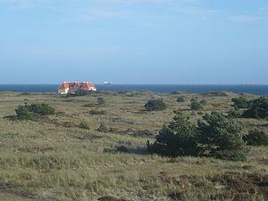 Klitgaarden - Klitgaarden with the sea as a backdrop