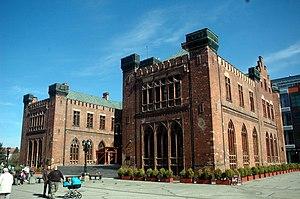 Siege of Kolberg (1807) - Schinkel's town hall