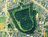 古市古墳群のひとつである誉田御廟山古墳