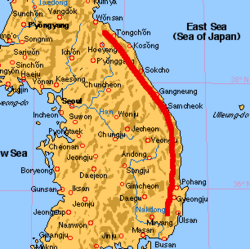 Korea taebaek mountains localmap.png