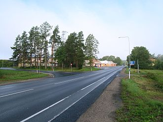 Estonian national road 2 - Image: Kose Risti