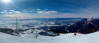 Krvavec Ski Resort - Image: Krvavec Panorama