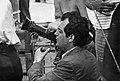 Kubrick on the set of Dr. Strangelove (1963 publicity photo, SLK.124.32).jpg