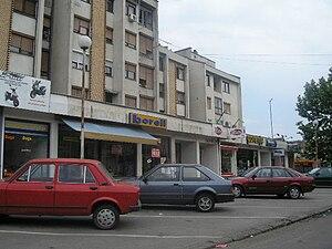 Kula, Serbia - Town center of Kula