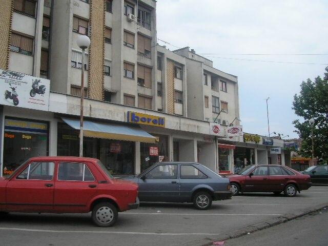 Kula, Serbia, town center