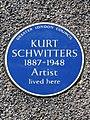 Kurt Schwitters 1887-1948 Artist lived here.jpg