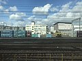 Kyoto Freight Station and Kyoto Railway Museum from train of Tokaido Main Line.jpg