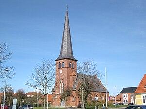 Løgstør - Image: Løgstør Kirke 2