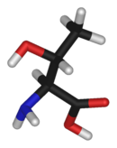 3D structure of L-Threonine