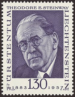 Theodore E. Steinway member of the Collectors Club of New York and Board of Trustees of the Philatelic Foundation