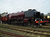 LMS 46233 Duchess of Sutherland at Didcot Railway centre (geograph 1692948).jpg