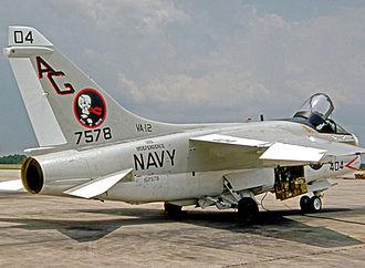 VA-12 (U.S. Navy) - Corsair II of VA-12 Squadron in 1976