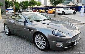 Aston Martin Vanquish Wikipedia - 2004 aston martin