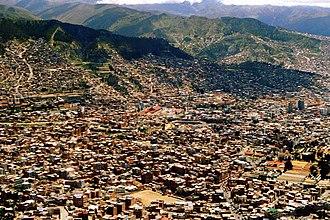 El Alto - Image: La Paz desde el camino a El Alto, Bolivia panoramio