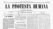 La Protesta, considerado el vocero no oficial de laFORA, era el periódico anarquista más significativo de la época enArgentina.