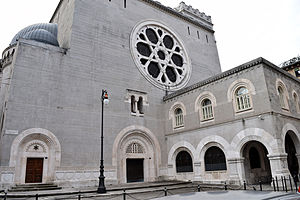 Synagogue of Trieste - External view