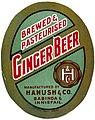 Label from Hanush's Ginger Beer (6817350664).jpg
