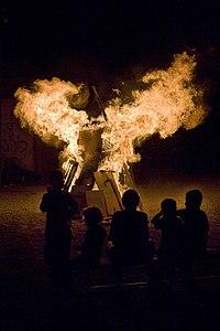 Lag Ba'Omer bonfire Tel Aviv Israel.jpg