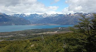 Cami Lake - Fagnano Lake, from north to south, in its Chilean part
