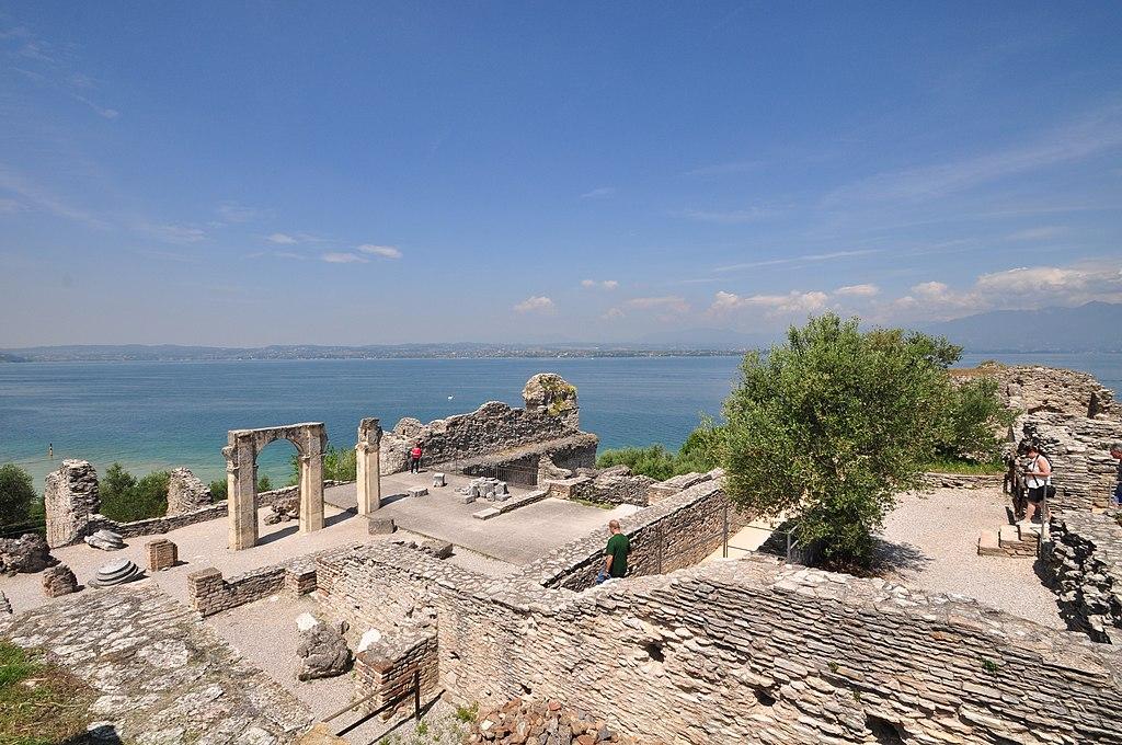 Lago di Garda,Sirmione, Grotte di Catullo