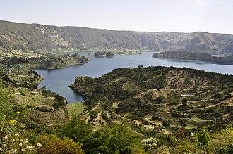Ambo, Ethiopia - Image: Lake wenchi crater