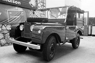 Maurice Wilks - Land Rover Series I
