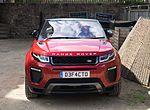 Land Rover Range Rover Evoque Convertible 2016 - front 2.jpg