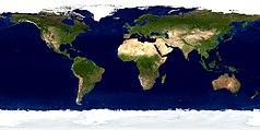 Mapa lokalizacyjna świata