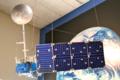 Museum model of the Landsat 4