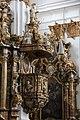 Landsberg am Lech, Heilig Kreuz Kirche, pulpit 002.JPG
