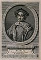 Lanfranc. Line engraving by E. Ficquet, 1765, after A. Humbl Wellcome V0003356.jpg