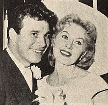 Lang Jeffries with Rhonda Fleming, 1960.jpg