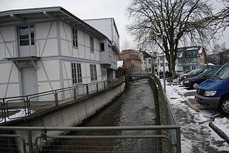 Langete im Zentrum von Langenthal