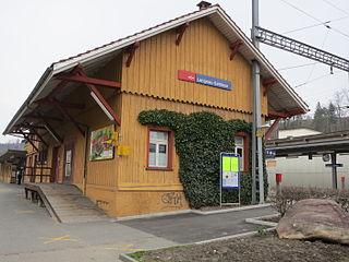 Langnau-Gattikon railway station