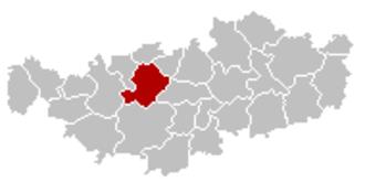 Lasne - Image: Lasne Brabant Wallon Belgium Map