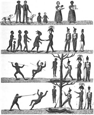 Last of the Tasmanians Woodcut 4 - Pictorial Proclamation for the Blacks.jpg