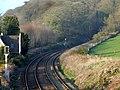 Last signal before the Bangor railway tunnel - geograph.org.uk - 156612.jpg