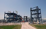 Launch Equipment Test Facility (LETF) under construction - Kennedy Space Center - Cape Canaveral, Florida - DSC02585.jpg