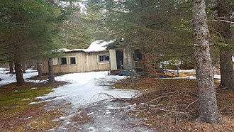 National Register of Historic Places listings in Kenai Peninsula Borough, Alaska - Image: Lawing cabin